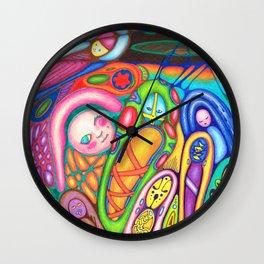 Surface Dreams Wall Clock