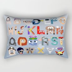 P is for Pixar (Pixar Alphabet) Rectangular Pillow