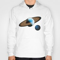 planets Hoodies featuring Planets by Kaitlynn Marie