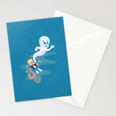 Where do friendly ghosts come from? Stationery Cards