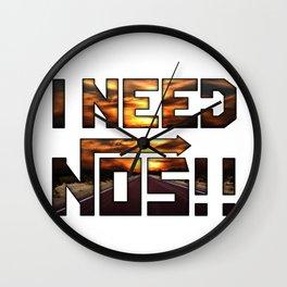 I need nos Wall Clock