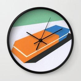 Eraser Wall Clock