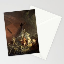 Aeneas and the Sibyl (circa 1800) Stationery Cards