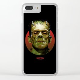 Frankenstein - Scary Movies Clear iPhone Case