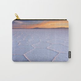 II - Salt flat Salar de Uyuni in Bolivia at sunrise Carry-All Pouch