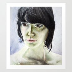 Erica Art Print