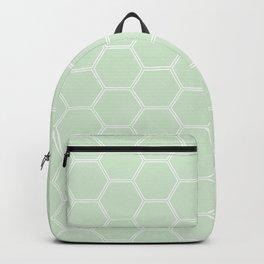 Honeycomb Light Green #273 Backpack
