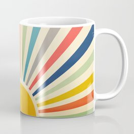 Sun Retro Art III Coffee Mug