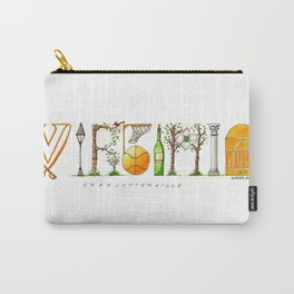 UVA - Charlottesville Carry-All Pouch