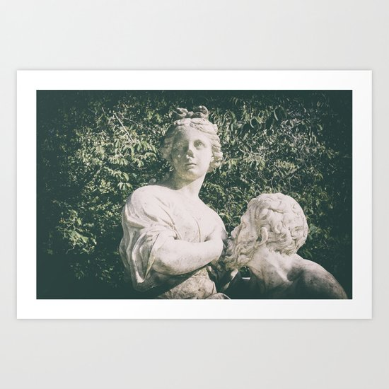 in the park Art Print