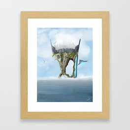 Last Island Framed Art Print