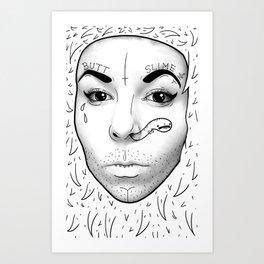 butt slime Art Print
