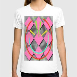 colored abstraction T-shirt