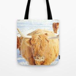 Cow Squad Goals Tote Bag