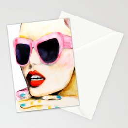 Waiting For Summer To Happen Stationery Cards