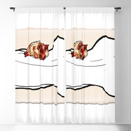 cat nude Blackout Curtain