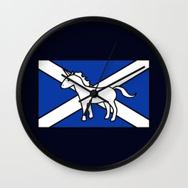 Unicorn, Scotland's National Animal Wall Clock