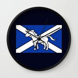 Unicorn, Scotland's National Animal Wall Clock