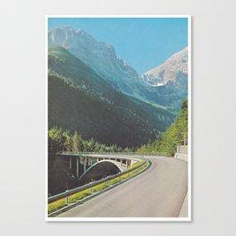 Pixelmountain Canvas Print