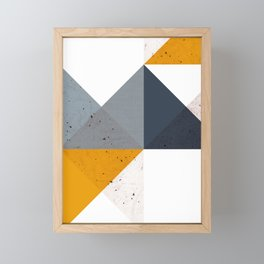 Modern Geometric 19/2 Framed Mini Art Print