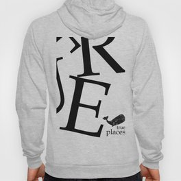 true places whale Hoody