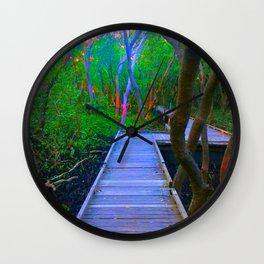 Vivid Mangroves Wall Clock
