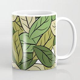 Cartoon leaf Coffee Mug