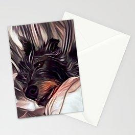 Lurcher Stationery Cards