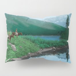 The Hunting Ground - Blackfoot American Indian Pillow Sham