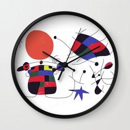 Joan Mirò #3 Wall Clock