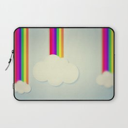 Yellowing Clouds Laptop Sleeve