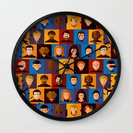 STARFLEET Wall Clock