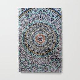 Tile Backsplash Metal Print