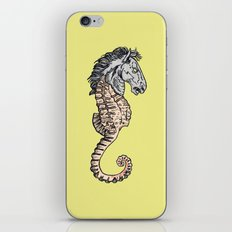 evil horse iPhone & iPod Skin