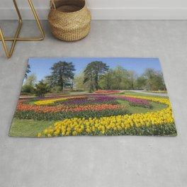 Fantastic tulip parc Rug