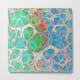 Modern Abstract Painting Ten Metal Print