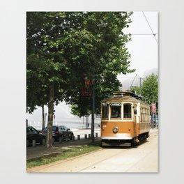Porto Tram Canvas Print