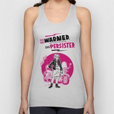 She Persisted Unisex Tank Top