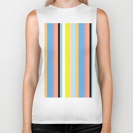 Nile Stripes Biker Tank