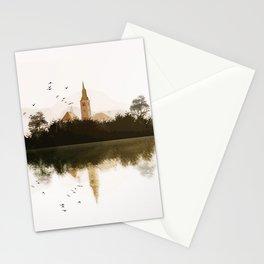 Lake Bled, Slovenia. Stationery Cards