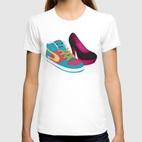 shoe T-shirts featuring Shoe Lovin' by mrbiscuit