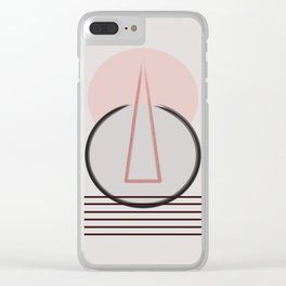 Intrusive Thoughts  #society6 #buyart Clear iPhone Case