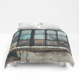 Dirty Windows Comforters