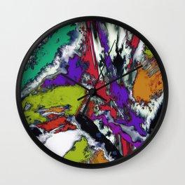 Mind motion Wall Clock