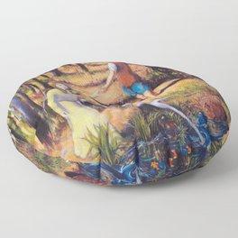 Hansel and Gretel Floor Pillow
