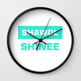 shawol shinee Wall Clock