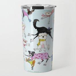 Dogs on Ice! Travel Mug