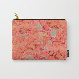 Coral Patina Carry-All Pouch