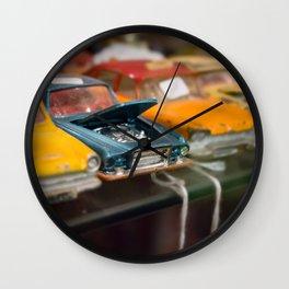 Car Trouble Wall Clock