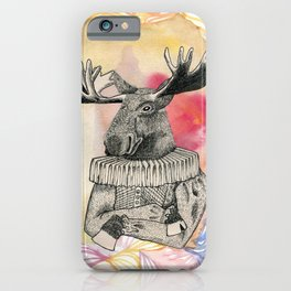sir Elk iPhone Case